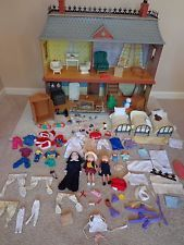 Superior Eden Madeline Doll House Furniture Dolls Clothes Accessories HUGE LOT