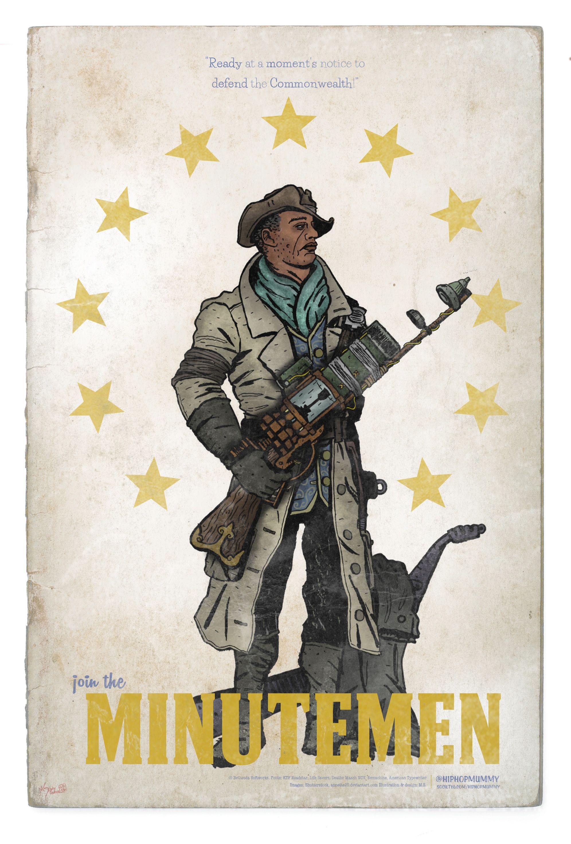 Commonwealth Minutemen Poster