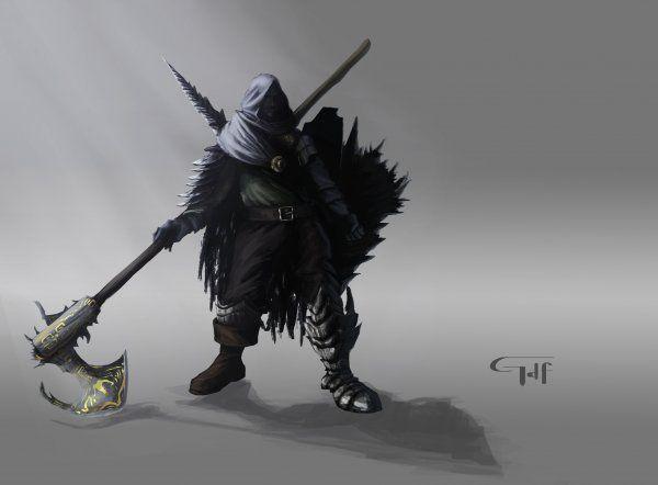 Dragon Slayer 1 - Personajes | Dibujando.net