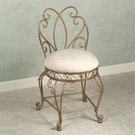 Gianna Vanity Chair 129 Vintage Chairs Vanity Chair Bathroom Vanity Chair
