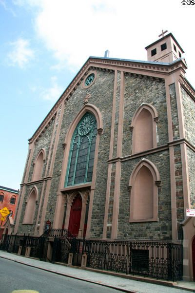 st patrick s old cathedral 1815 1868 mott prince sts new