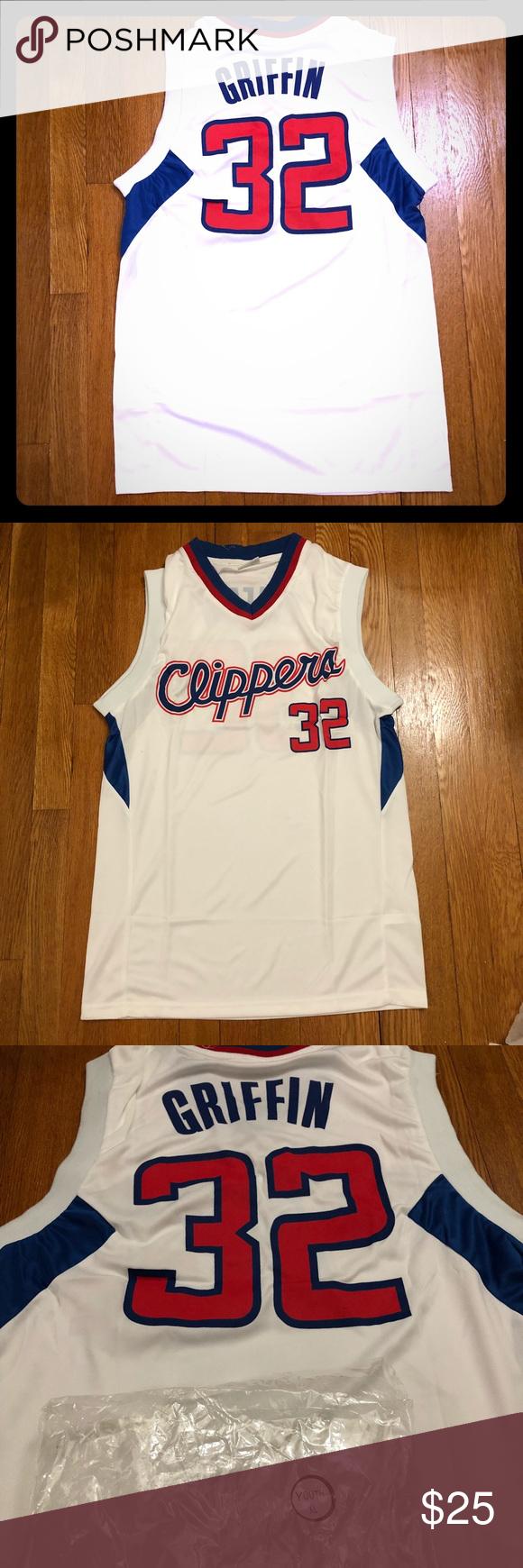 Nwot La Clippers Blake Griffin Jersey Replica Jersey From La Clippers Blake Griffin Item Was Received As A Priz Blake Griffin Jersey Blake Griffin La Clippers
