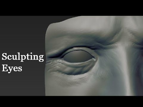 Zbrush Sculpting Eyes Part 2 Youtube Dsprogressionboard