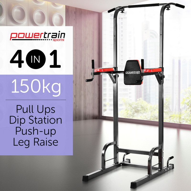 d3c9b95e284 Powertrain 4 in 1 Multi Station Chin-Up Tower