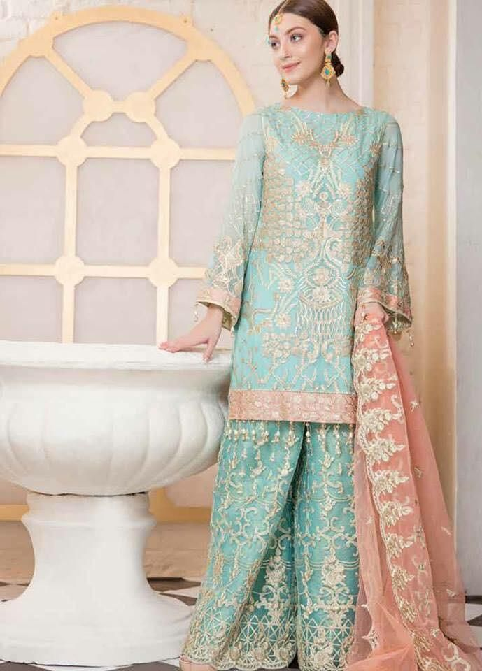 b2fae875a7 Pakistani Party Wear Dress Online - Pakistani Wedding Party Dresses Online  at Nameera by Farooq, Pakistani Party Wear dress by Maryum N Maira Work ...