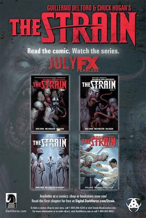The Strain Comic-Poster Staffel 1