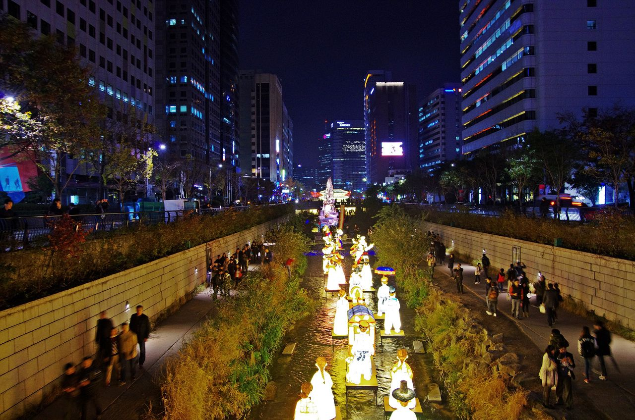 korea,travel.tour,청계천,