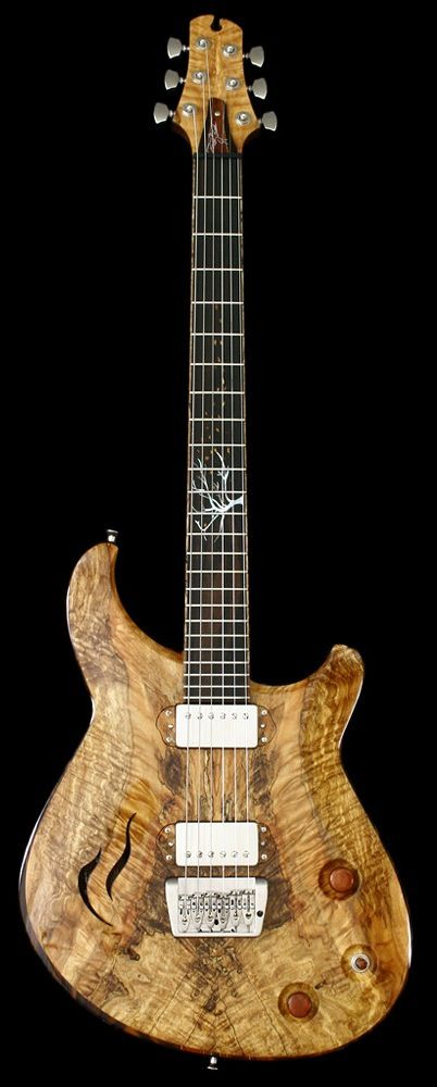 Crow Hill Windsong Semi Hollow Neck Thru Electric Guitars Cool Electric Guitars Cool Guitar Semi Acoustic Guitar
