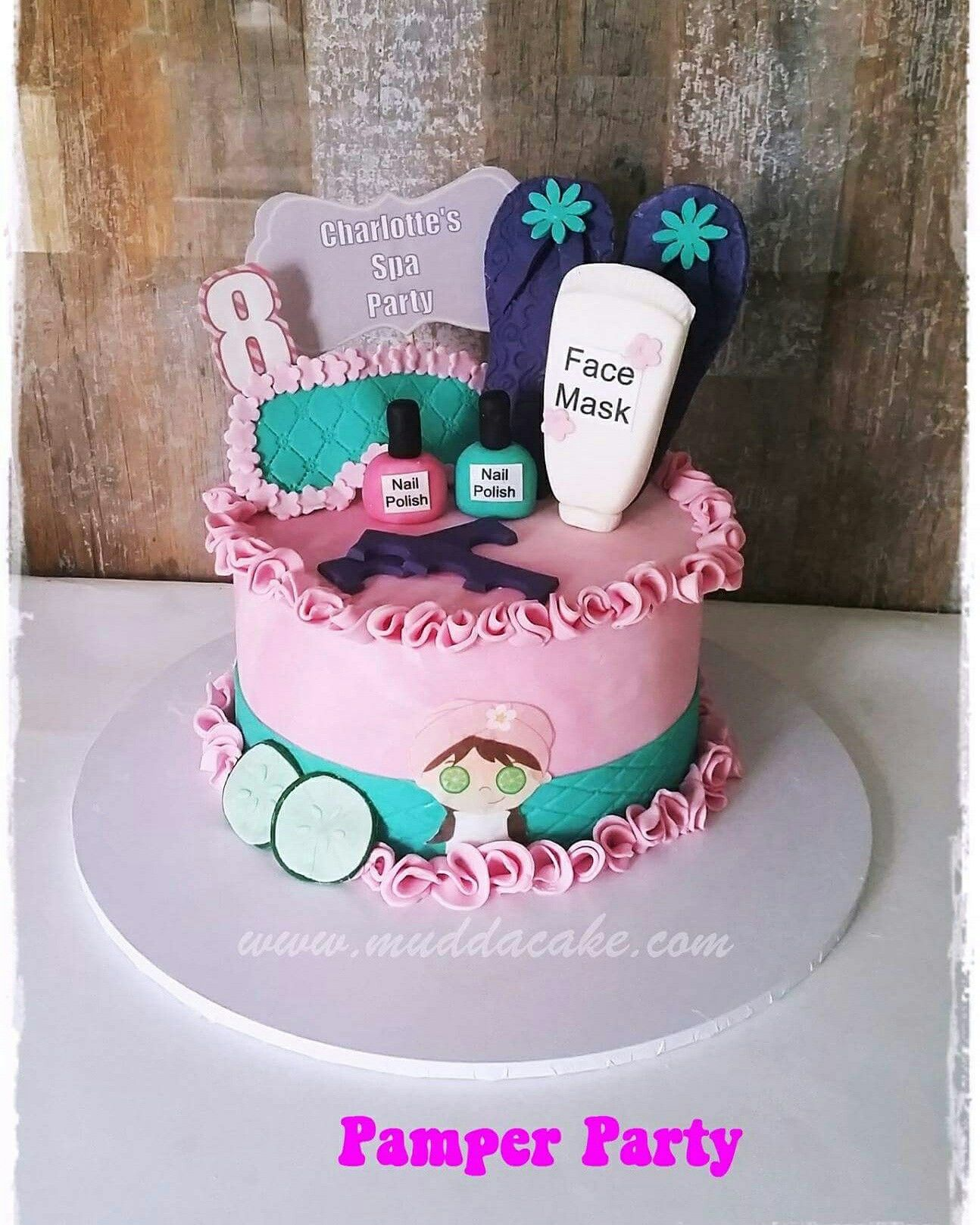 Cake Ideas For Pamper Party
