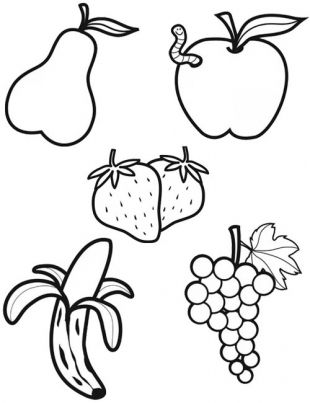 Coloriage Les Fruits.Coloriage Fruits Art Related Coloriage Fruits Pommes