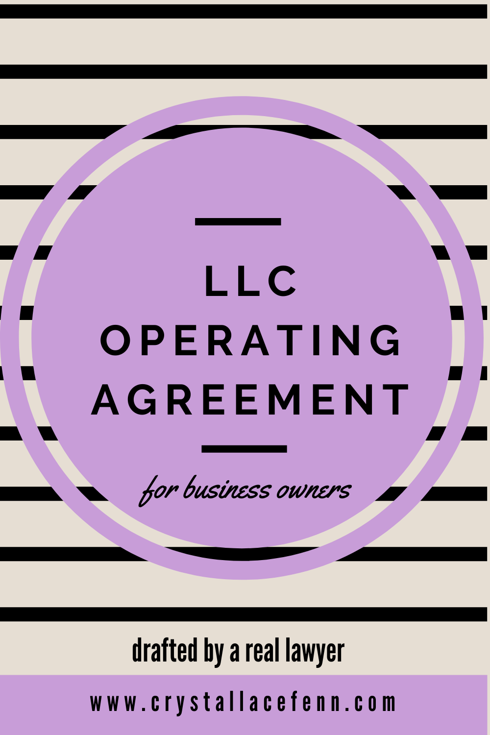 LLC Operating Agreement for Business Owners Etsy in 2020
