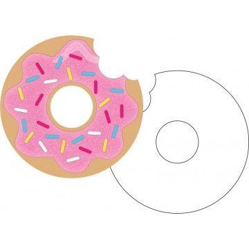 Doughnut Time Postcard Invitations