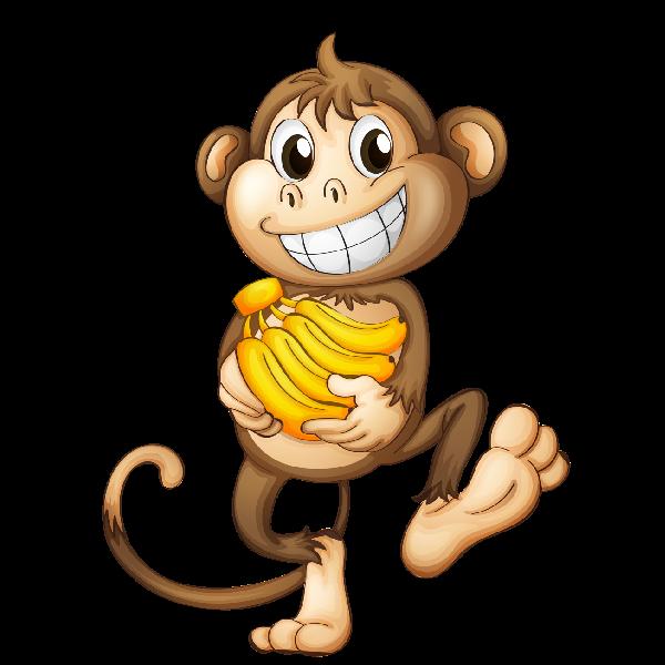 Cartoon Monkey Image 4 Png 600 600 Monkey Drawing Monkey Pictures Cartoon Monkey