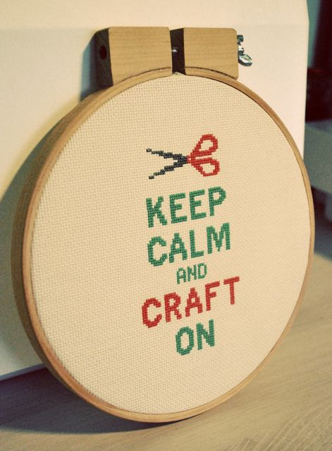 Keep calm and craft on.