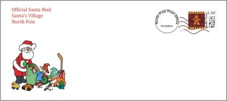 Free Santa Letters Upgrade  Santa Letter Envelope  Christmas