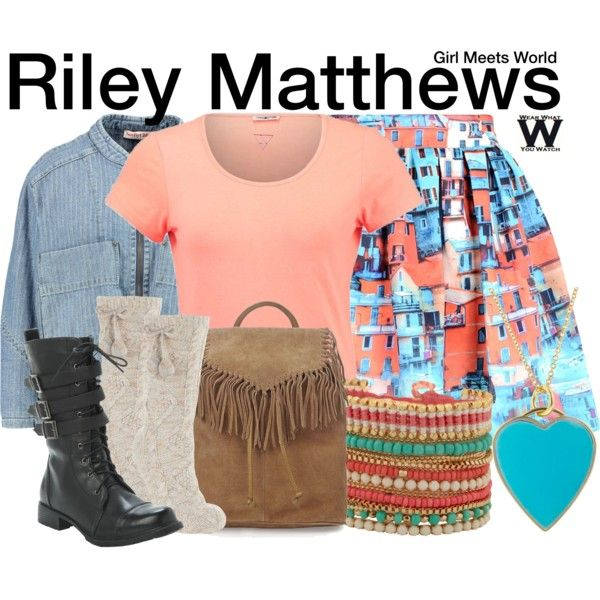 Inspired by Rowan Blanchard as Riley Matthews on Girl Meets World.