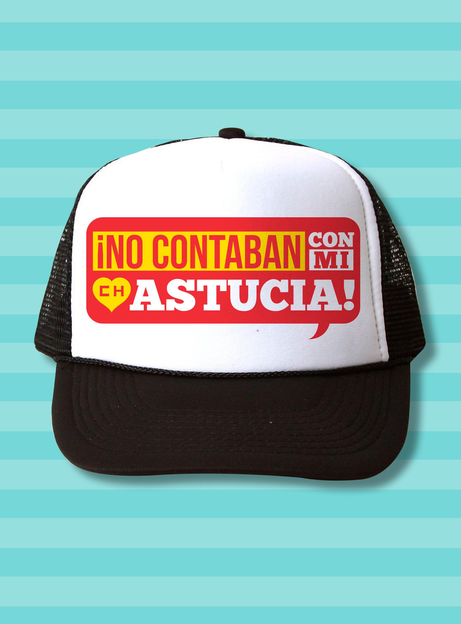 El Chapulín Trucker Hat - No contaban con mi astucia  dc6d84b1850