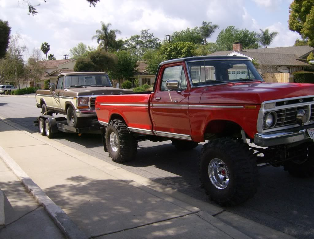 Ford1976 trucks highboy lift ford truck enthusiasts forums love