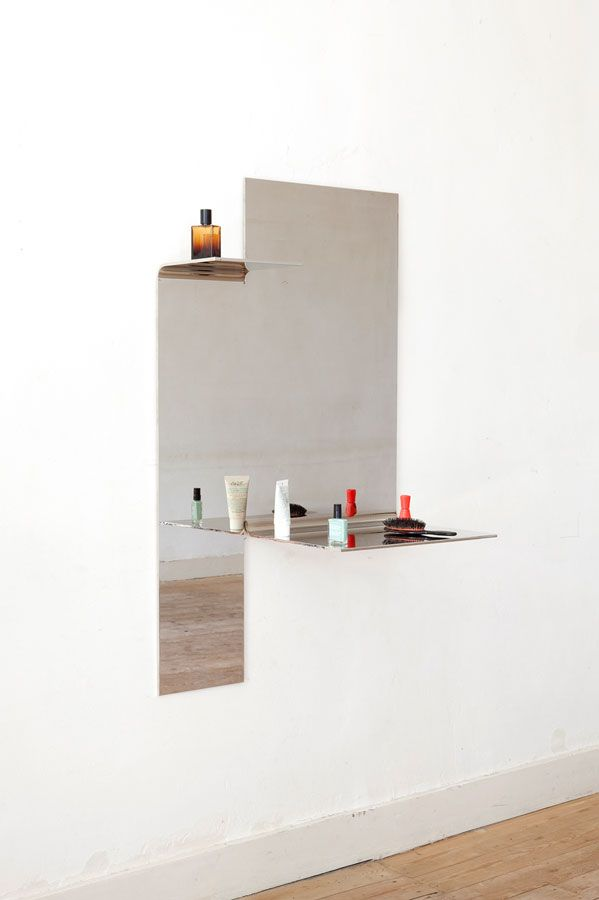 Bended Mirror 2 2015 Muller Van Severen Objects