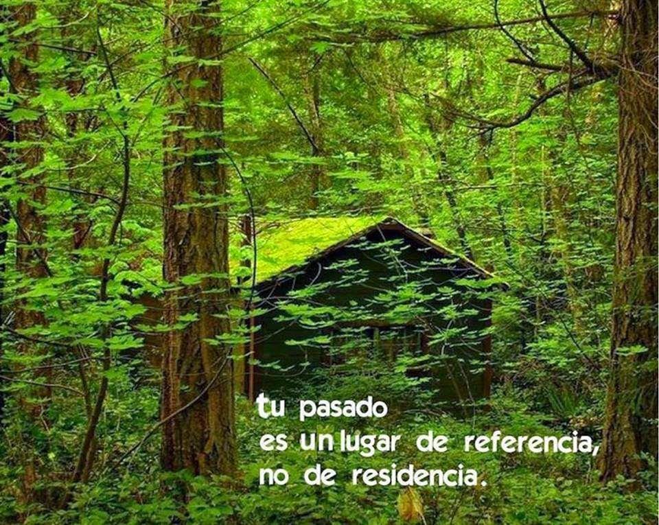 Tu Pasado Es Un Lugar De Referencia No De Residencia