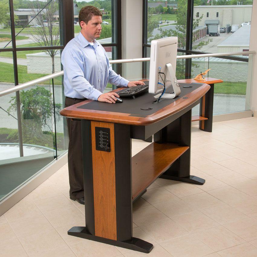 What Is The Best Standing Desk Desks Pinterest Desk Stand Up