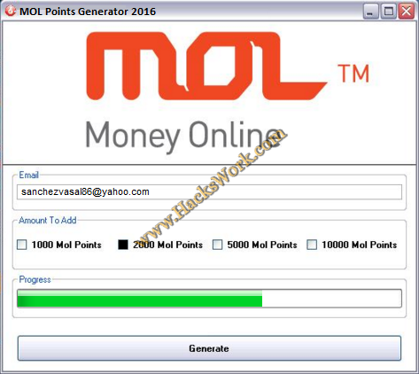 MOL Point Hack Cheat 2016 tool download  With updated MOL Point Hack