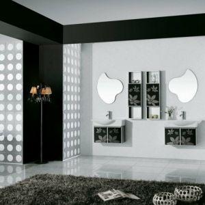 Fotos Von Badezimmer In Schwarz Und Weiß Badezimmer Ideen - Black and white decorative bath towels for small bathroom ideas