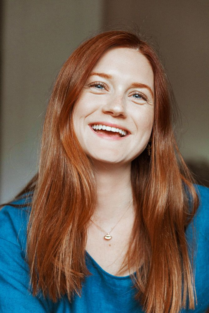 Photo of Harry Potter's Bonnie Wright On Red Haircare & Natural Products