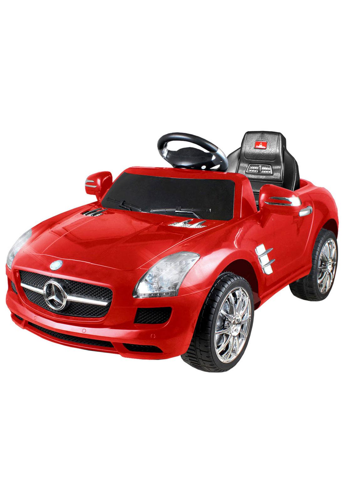 Mini Carro Eletrico 6 Volts Mercedes Benz Vermelho Xalingo Mini