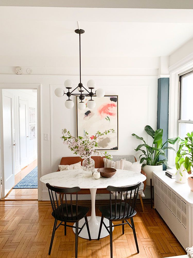Small Space Squad Home Tour Crystal Ann Interiors Jojotastic Dining Room Small Minimalist Dining Room Dining Room Design