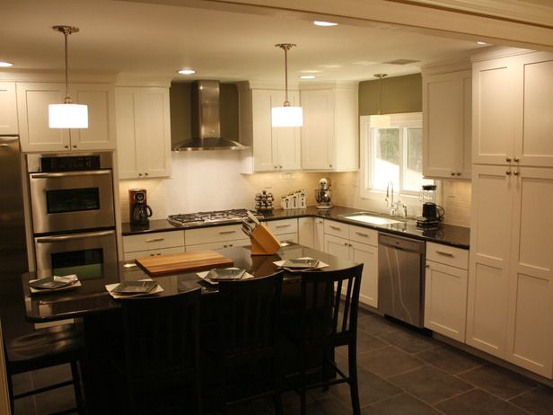 How to Install Kitchen Cabinet Crown Molding | Installing ...