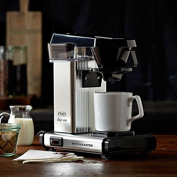 technivorm moccamaster cup one coffee brewer williams. Black Bedroom Furniture Sets. Home Design Ideas