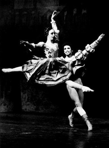 Richard Cragun And Marcia Haydee In John Cranko S Ballet The