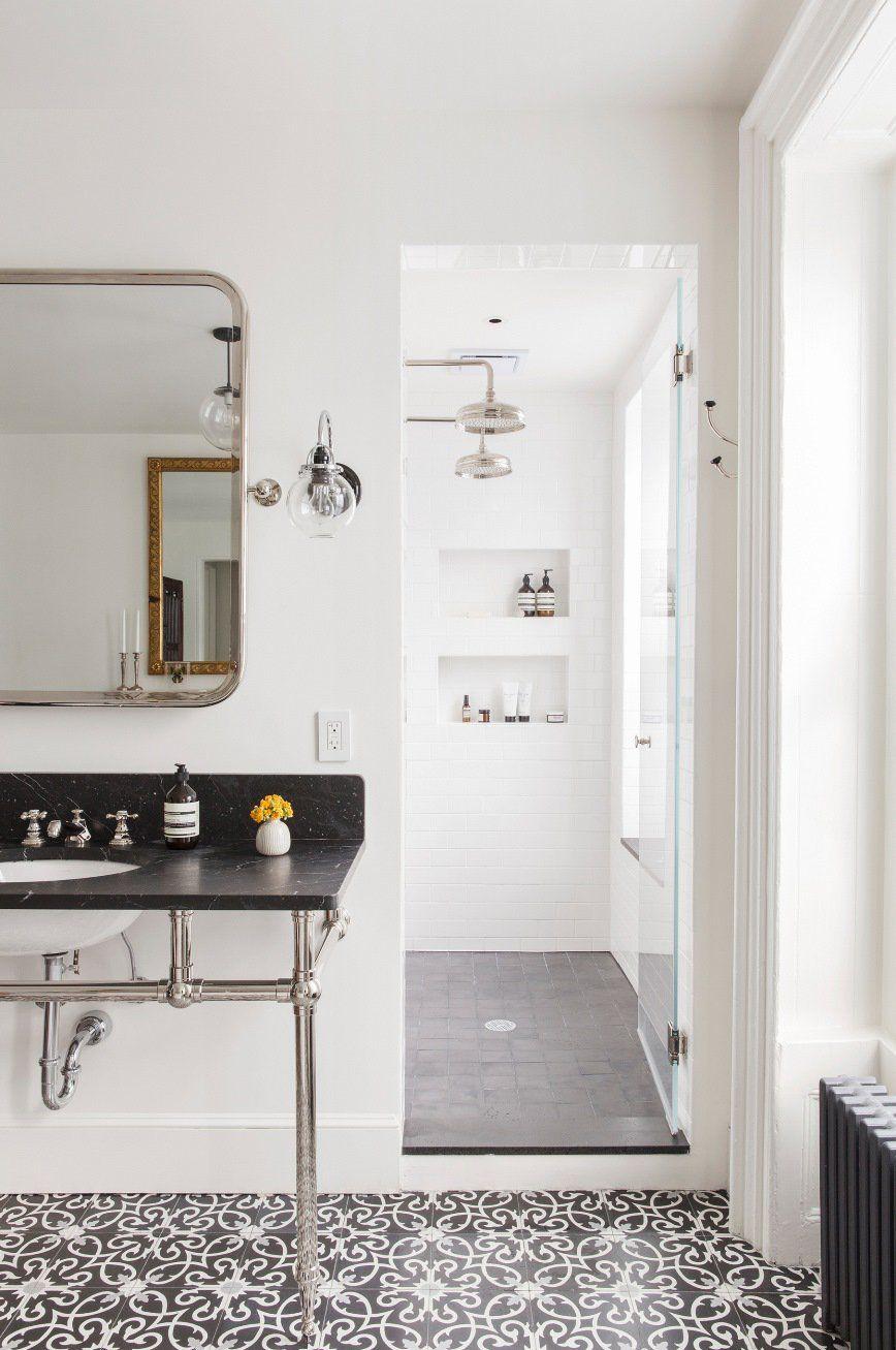 5 Bold Bathroom Tile Floors Bold Bathroom Tile Bathroom Interior Bathroom Trends