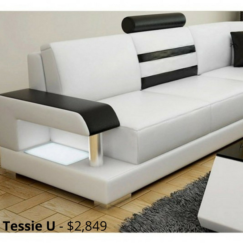 Tessie U Leather Sofa Modular Lounge Offers A Modern Classic Design With Its Contrasting Leather Colours And B Living Room Sofa Design Leather Sofa Sofa