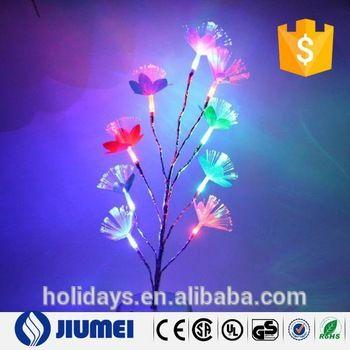 Novel Color Changing Fiber Optic LED Tree Branch Night Light Table Lamp