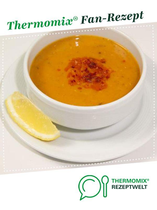 Türkische Linsensuppe Mercimek von Achim1304. Ein Thermomix ® Rezept aus der Kategorie Suppen auf www.rezeptwelt.de, der Thermomix ® Community. #cinnamonsugarcookies