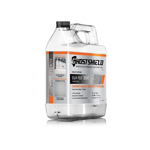 Ghostshield Sila Tek 3500 Concrete Sealer And Densifier Kretetek Concrete Sealer Concrete Concrete Countertop Sealer