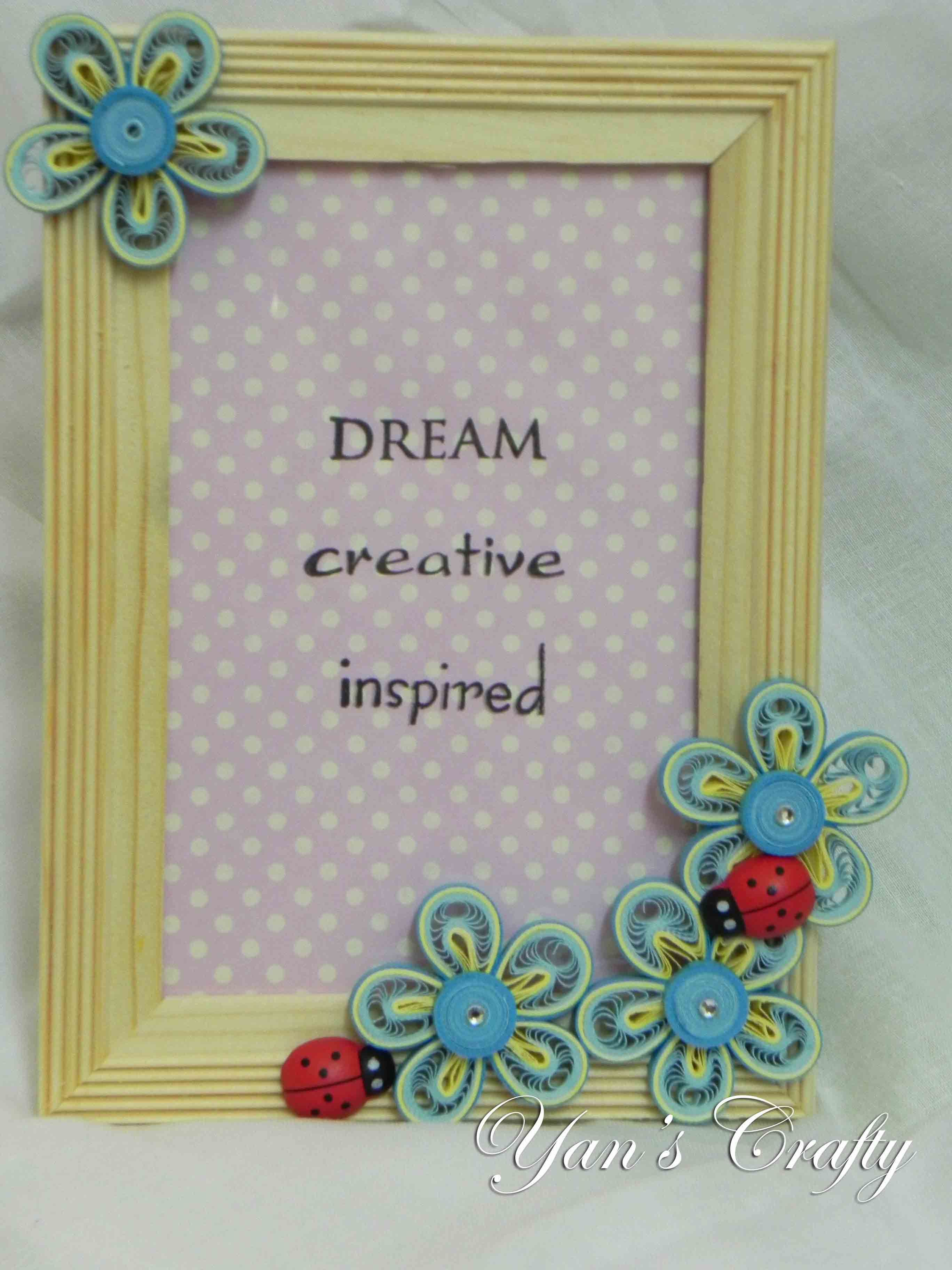 Dream - Creative - Inspired Quilling Frame,… | Quilling Projects by ...