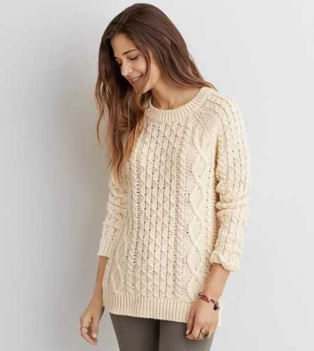 AEO Cable Knit Sweater - Buy One Get One 50% Off | Cozy Sweaters ...