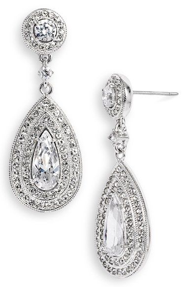 Free shipping and returns on Nadri Pear Drop Earrings at Nordstrom