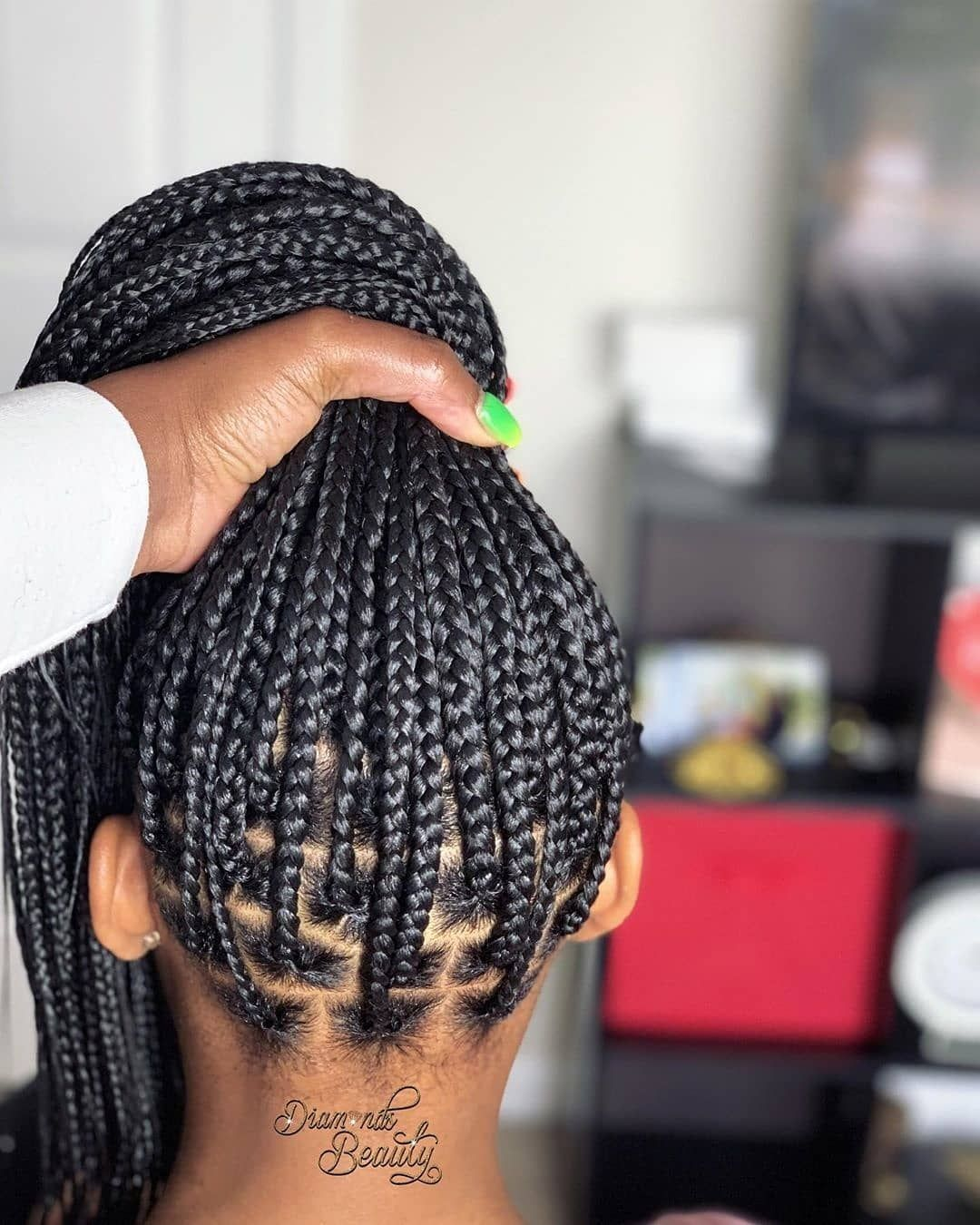 Uly 6 7 2019 On Instagra Single Braids Hairstyles Hair Styles African Braids Hairstyles