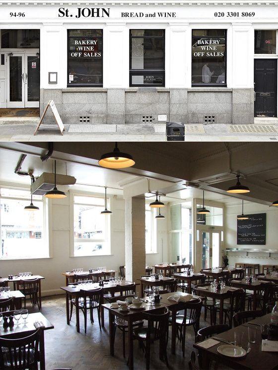ST. JOHN BREAD & WINE, LONDRES