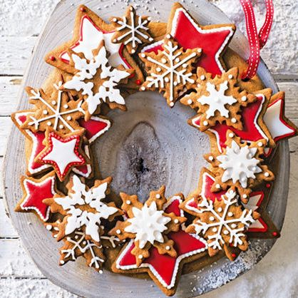 Gingerbread Wreath Recipe It S The Most Wonderful Time Of The