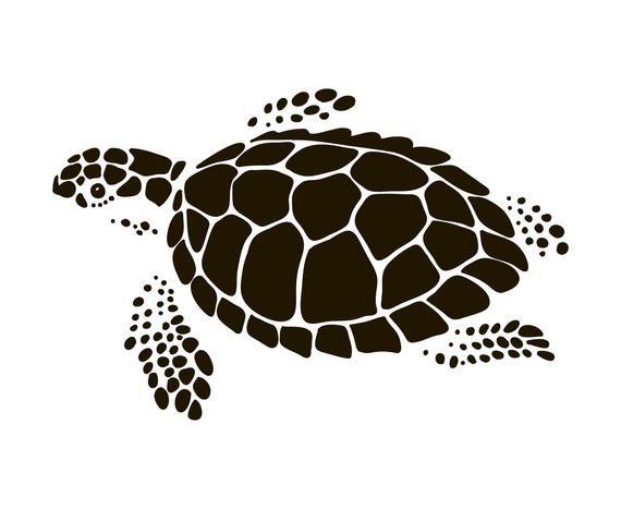 44+ Sea turtle clipart silhouette information