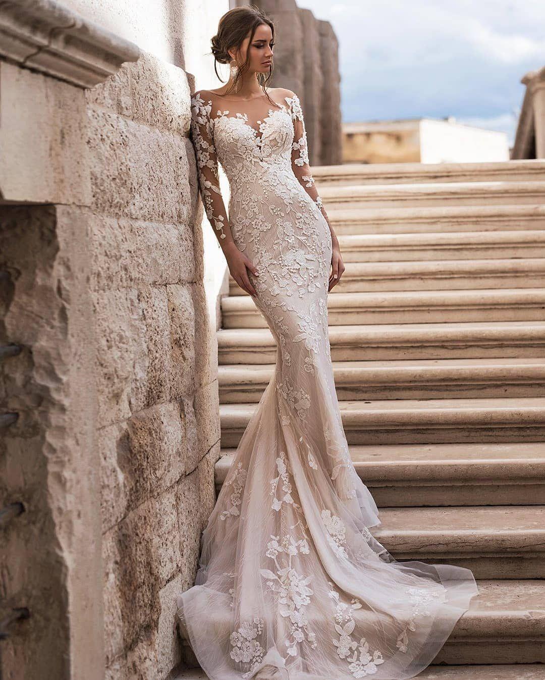 Hera Dresses On Instagram H E R A Dress By Blunnybridal Wedding Weddi Bridal Dresses Cheap Wedding Dress Long Sleeve Wedding Dress Lace Mermaid [ 1347 x 1080 Pixel ]
