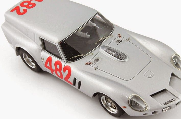 Slot cars, Silver Line Drogo 250GT Breadvan SL22 - Scuderia Serenissima Test car, 1962 SL23 - Coppa Gallenga, 1965 - See more at: http://manicslots.blogspot.com.au/#sthash.2KcwGNQz.dpuf
