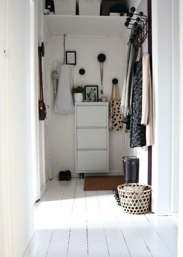Como decorar un recibidor muy peque o de manera lowcost - Entraditas pequenas ikea ...