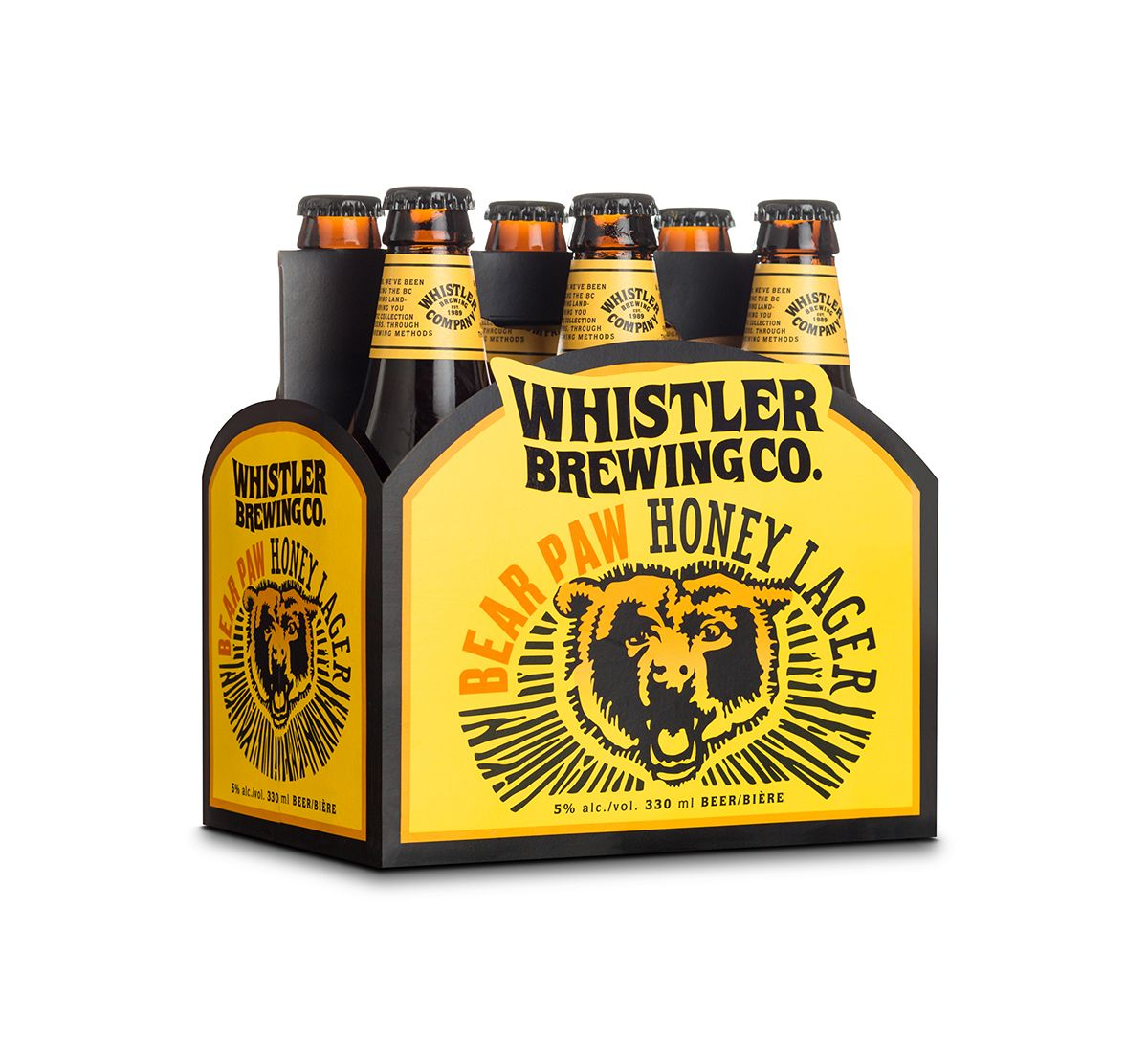 The Groovy Lettering Of Whistler Brewing Co Brewing Co Beer