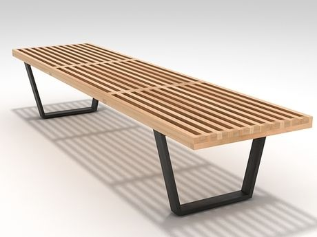 george nelson bench. MLF Nelson Platform Bench (3 Sizes) George B